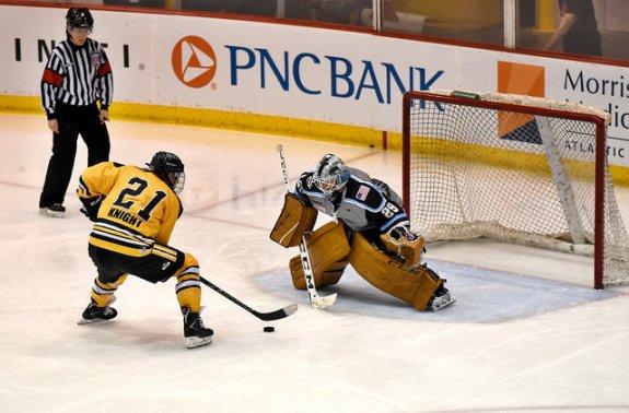 hockey penalty shot