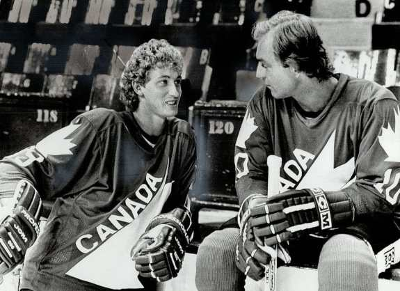 best hockey players Gretzky and Lafleur