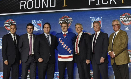 Lias Andersson Competing for Opening Night Spot