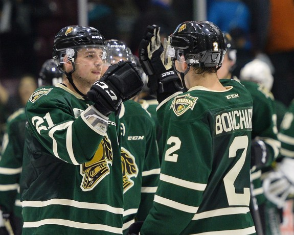 London Knights, Evan Bouchard, OHL