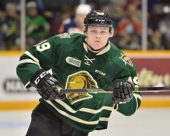 Max Jones, OHL, London Knights