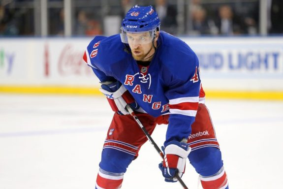 Michael Grabner New York Rangers