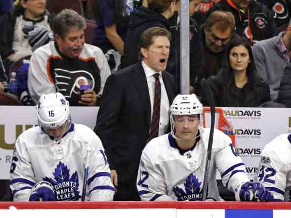 Mike Babcock Maple Leafs