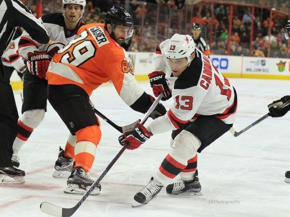 Mike Cammalleri (Amy Irvin / The Hockey Writers)