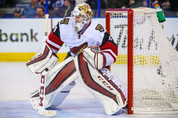 Mike Smith, Arizona Coyotes, NHL