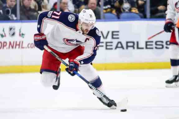Blue Jackets Center Nick Foligno