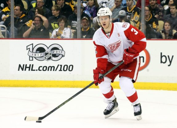 Nick Jensen of the Detroit Red Wings.
