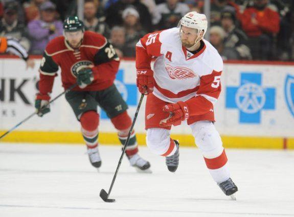 Niklas Kronwall of the Detroit Red Wings