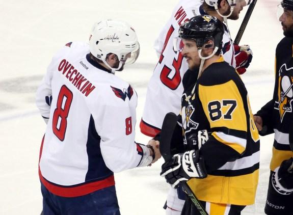 Alex Ovechkin, Sidney Crosby, Washington Capitals, Pittsburgh Penguins