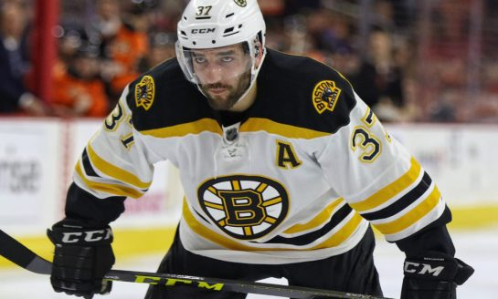 Overtime With BSC: Bergeron Remains Heart & Soul of Bruins