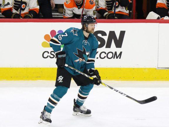 Paul Martin, San Jose Sharks