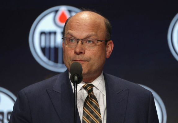 General manager Peter Chiarelli