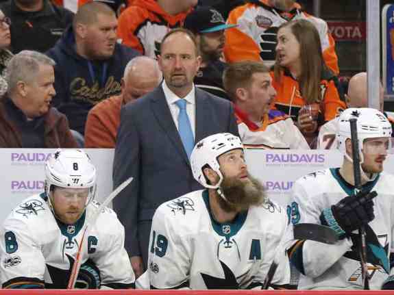 Peter DeBoer Sharks