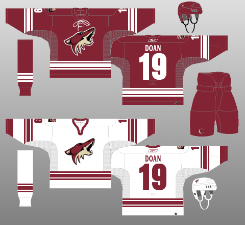 arizona coyotes uniforms