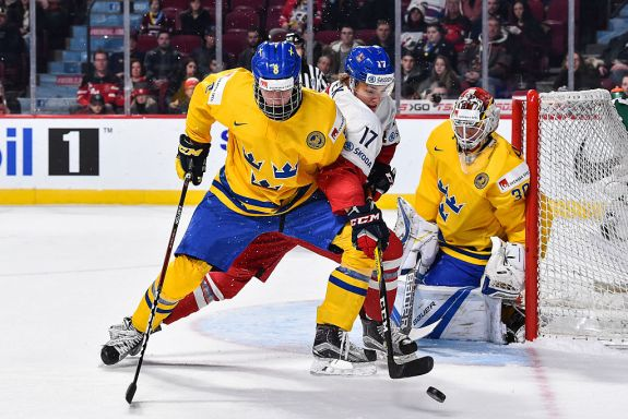 Rasmus Dahlin would be a great addition for the Detroit Red Wings.