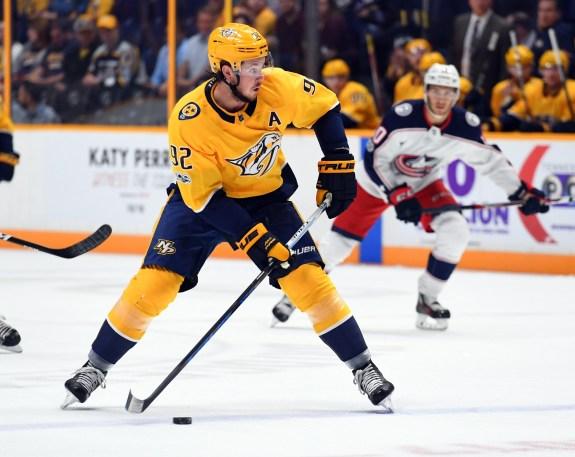 Ryan Johansen, Nashville Predators