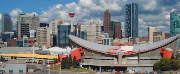 Saddledome, 2015, Calgary Flames