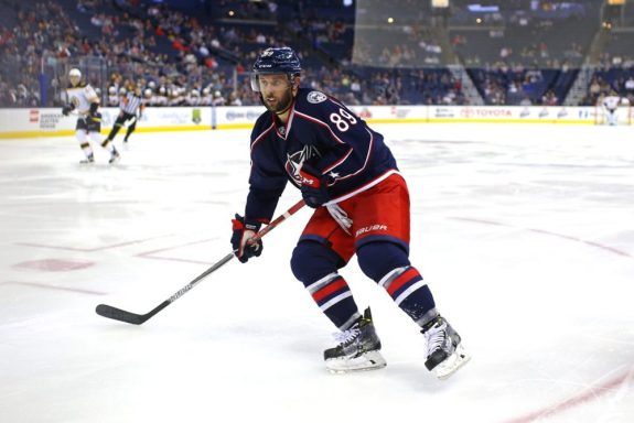 Sam Gagner, Columbus Blue Jackets, NHL