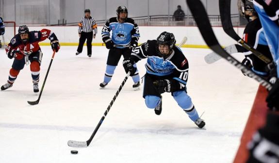 Sarah Casorso hockey