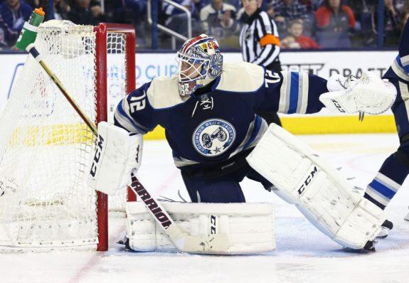 Sergei Bobrovsky, Columbus Blue Jackets, NHL