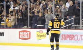 Crosby's Point Streak Extends to 10