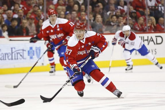 T.J. Oshie, Washington Capitals, NHL