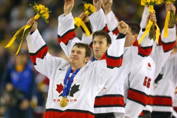 Theo Fleury Gold Medal