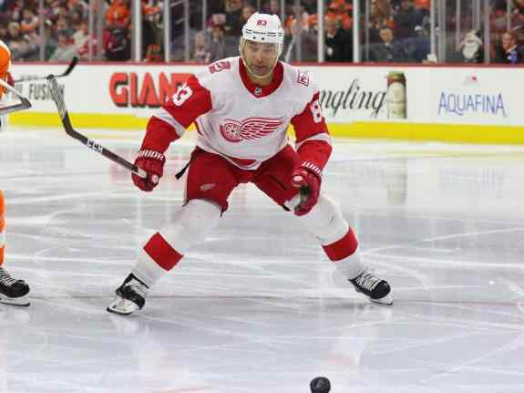 Trevor Daley Red Wings