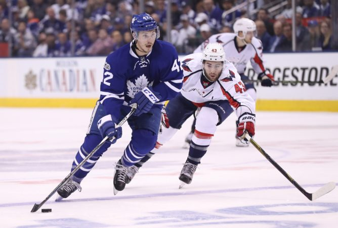 Tyler Bozak, Toronto Maple Leafs, NHL