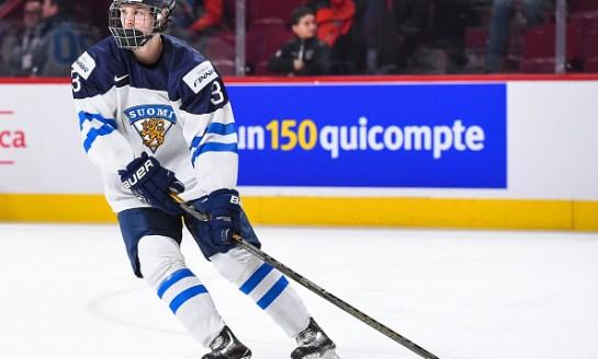 2017 NHL Draft: Bruins Pick Urho Vaakanainen #18 Overall