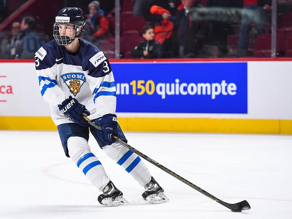 Urho Vaakanainen, NHL Entry Draft, NHL Combine