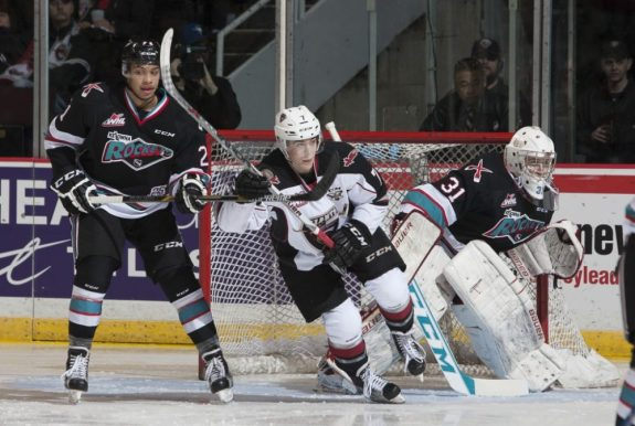 Ty Ronning of the Vancouver Giants