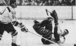 50 Years Ago in Hockey: Big Guns Power Hawks, Bruins
