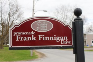 Photo by: Scott Campbell A street in Shawville, Quebec was named for Frank Finnigan.