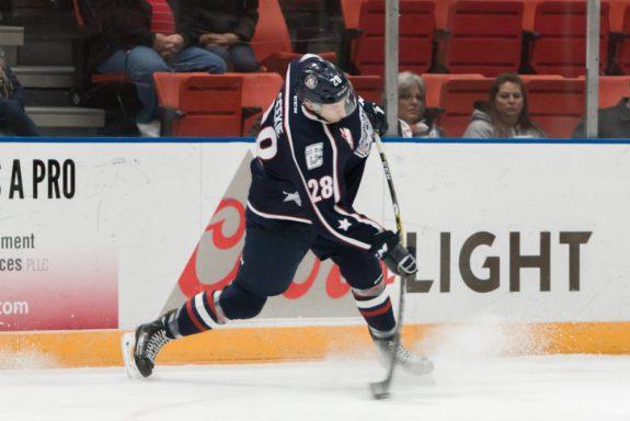 Morgan Geekie hockey