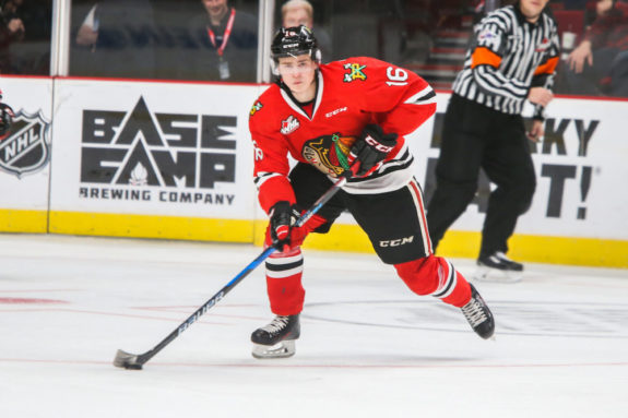 NHL's top prospect says he is overcoming 2 hernia injuries