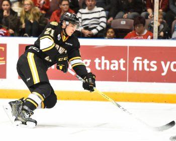 Adam Ruzicka, Sarnia Sting, OHL