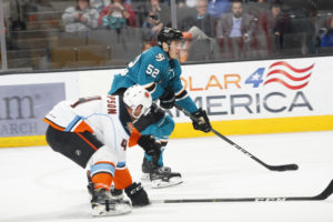 San Jose Barracuda Adam Helewka