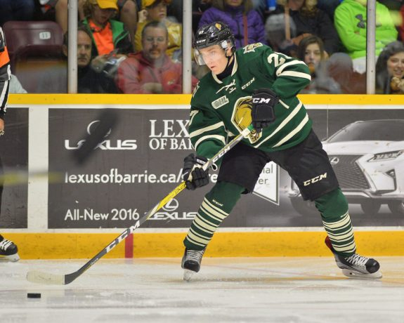Robert Thomas, London Knights, OHL, 2017 NHL Draft