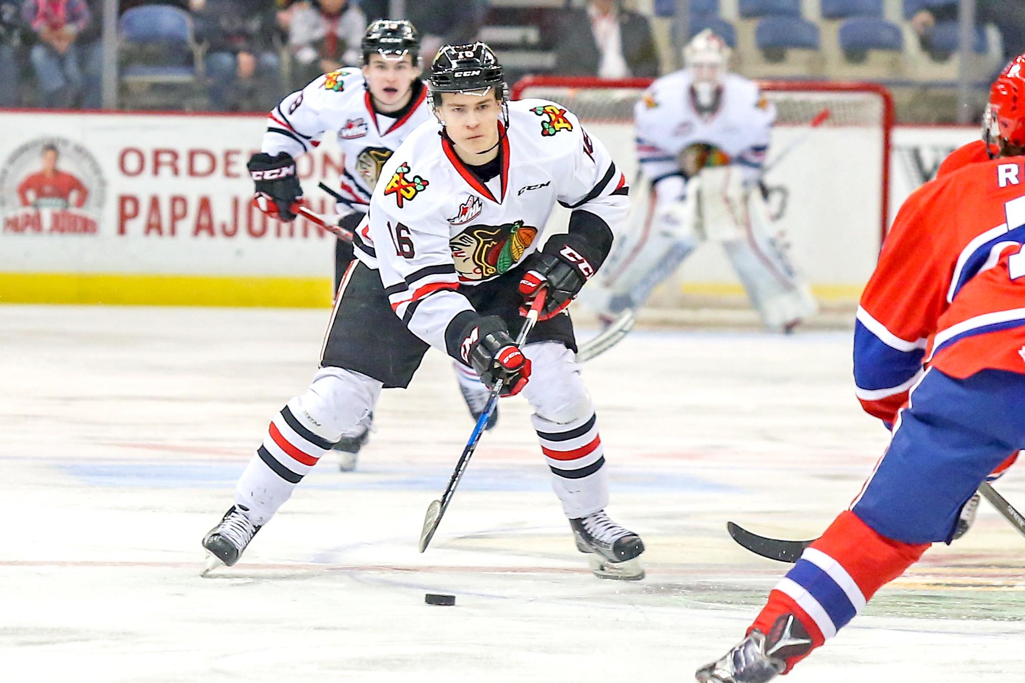 Blackhawks select Henri Jokiharju in Round 1 of the 2017 NHL Draft