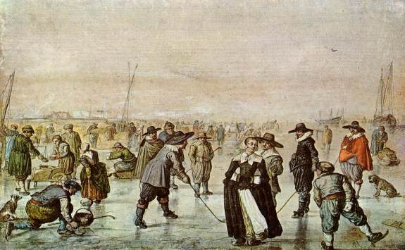 a day on the ice 17th century
