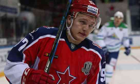 Kirill Kaprizov Wants to Play in the NHL