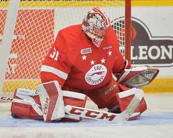 Matthew Villalta, OHL, Greyhounds