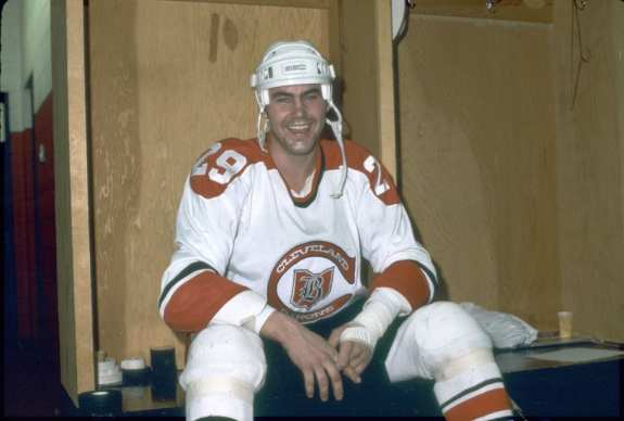 Jeff Allan Cleveland Barons