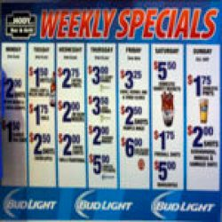 Learn about daily, and game specials