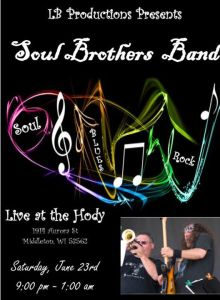 Soul Brothers Band at Hody @ Hody Bar and Grill in Middleton, WI | Middleton | WI | United States