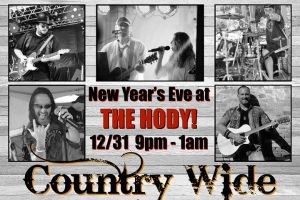 NYE at The Hody Bar & Grill! @ Hody Bar and Grill in Middleton, WI   Middleton   WI   United States