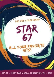 90s/00s Night at Hody Bar with Star 67 @ Hody Bar and Grill in Middleton, WI | Middleton | WI | United States