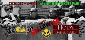 """80's Halloween Party with """"The Decade!"""" @ Hody Bar and Grill in Middleton, WI 