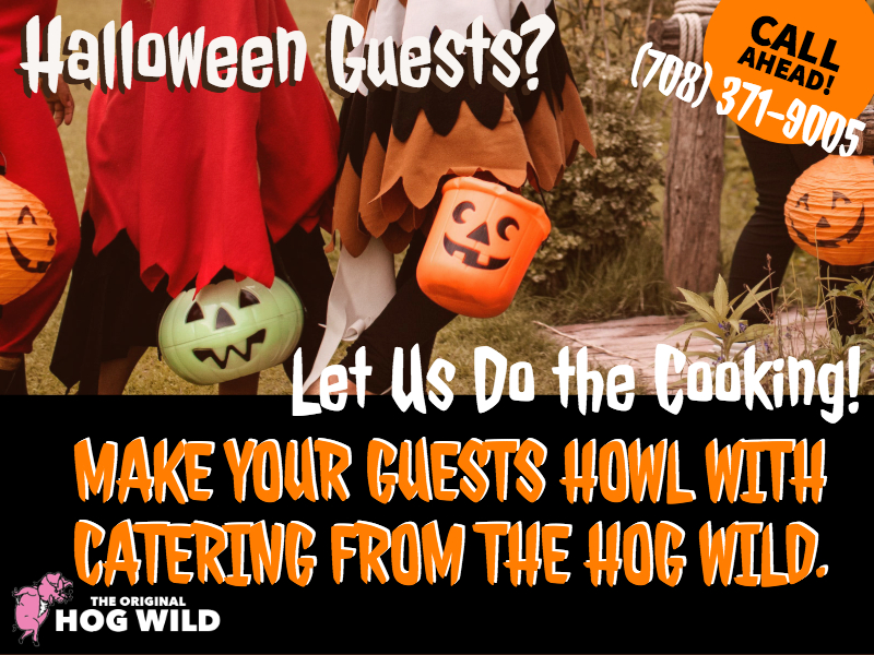 Monday, October 22, 2018 Daily Specials… Having Guests for Halloween?